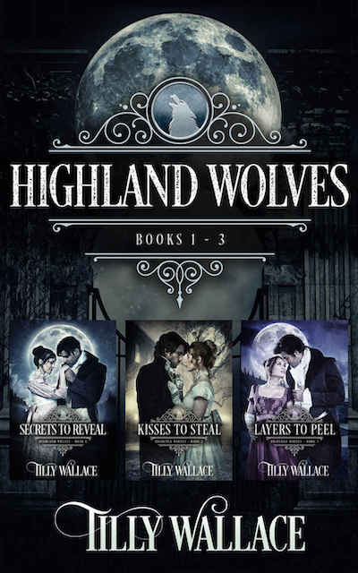 Book cover for Highland Wolves Boxed Set by Tilly Wallace
