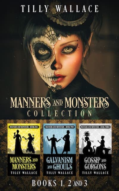 Book cover for Manners and Monsters Collection by Tilly Wallace